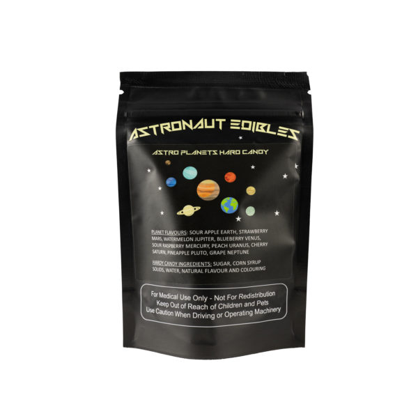 Astro Edibles flavoured weed candies