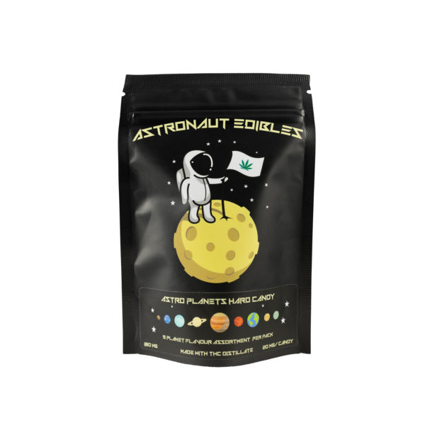 Astro Edibles brand weed infused candies