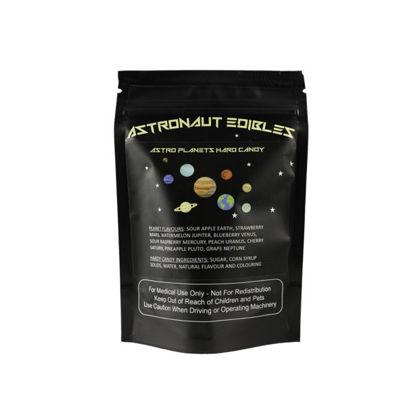 Astro Edibles hard candies infused with weed for sale in Canada
