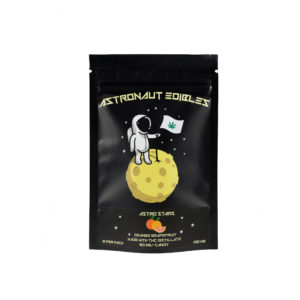 Astros Gummy Stars – Orange Grapefruit