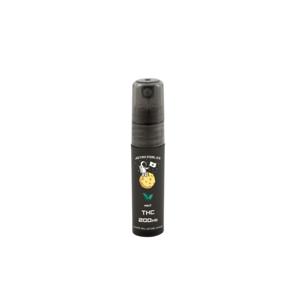 Mint Flavoured THC Oral Sprays In Canada