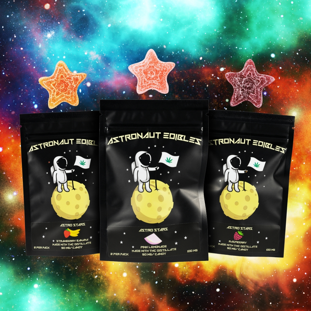 Welcome to Astro Edibles- find quality edibles that are made in a food safe, industrial, licensed facility in Canada. Explore our weed candy products and look for them in your favourite online cannabis store.
