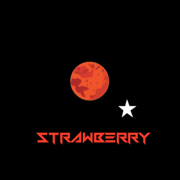 Astro Edibles flavoured weed candies in Canada strawberry 01