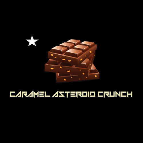 Astro Edibles weed chocolate bars in Canada caramel crunch 01