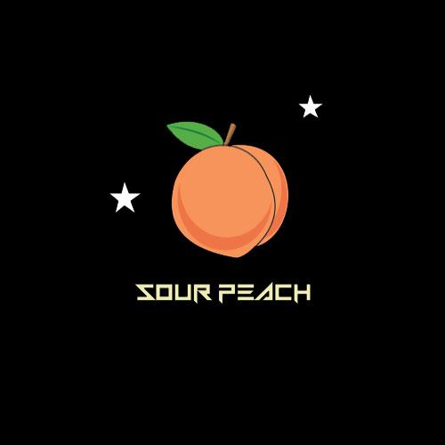 Astro edibles cannabis weed gummies Canada Sour Peach 01