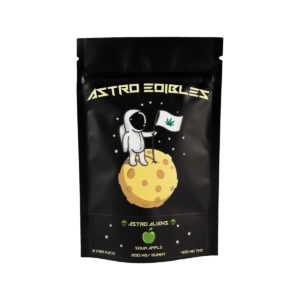 Astros Aliens – High Dosage – 400mg Pack – Sour Apple