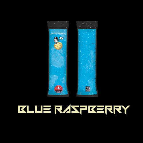 Astro edibles cannabis weed freezie blue raspberry 01