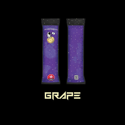 Astro edibles cannabis weed freezie grape 01