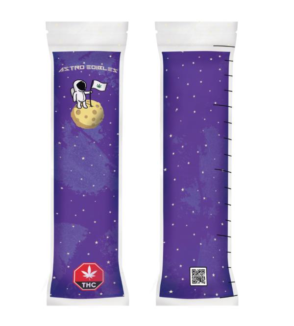 astroEdibles freezie Purple 1